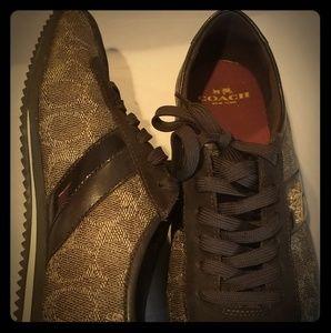 Coach Sneakers (Brown)